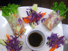 Spring Roll at Jitlada Thai Restaurant