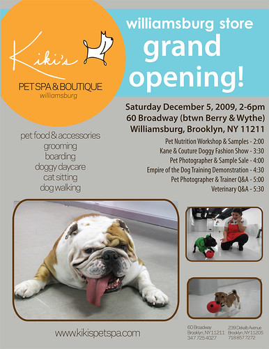 Kikis Pet Spa and Boutique - Grand Opening