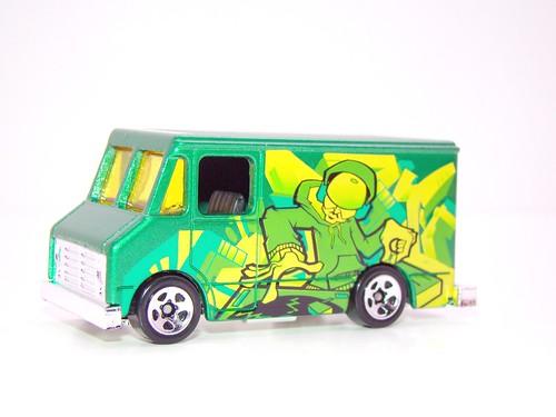 hws delivery van