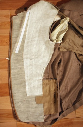 canvassed suit difference fused jacket full canvas