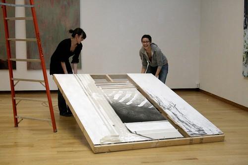 Spine: Senior Exhibition: Installation