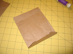 Recyled Paper Wine Bag