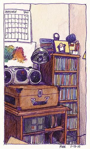 a corner of music