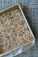 Emmer & Oat Chocolate Chunk Bars in pan