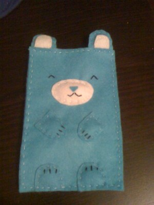 Mi funda de iPhone kawaii