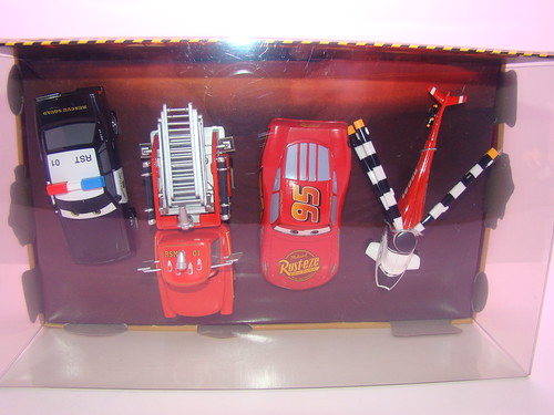 disney store CARS rescue squad mater 4 pc set (4)