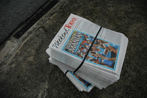 Newspaper by KC Toh, on Flickr