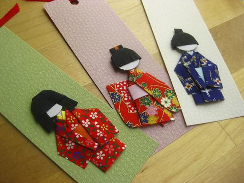 Shiori Ningyo Bookmarks