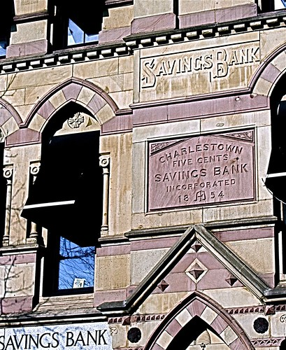charlestown five cent savings bank full view