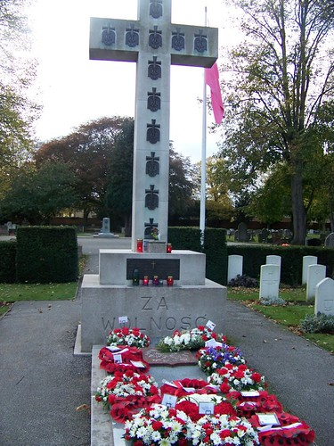 Newark-On-Trent Cemetery for the annual All Souls Day Service held on the last Sunday in October each year by you.