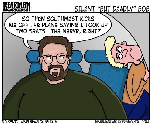 2 23 10 Bearman Cartoon Kevin Smith Southwest