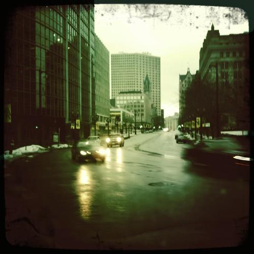 Streets slick with regret