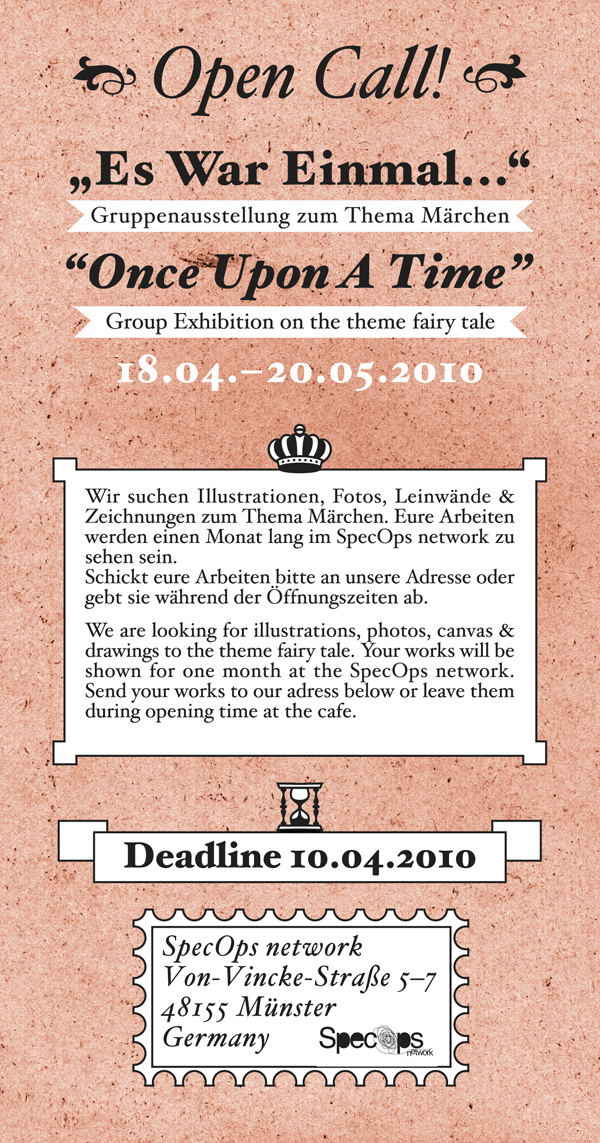 opencall - fairytale artworks