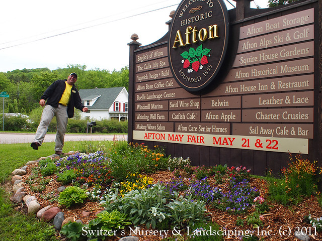 Landscape Designer Glenn! Switzer in Afton, Minnesota