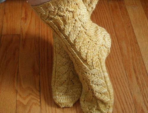 for Rav: TTL Mystery Socks KAL
