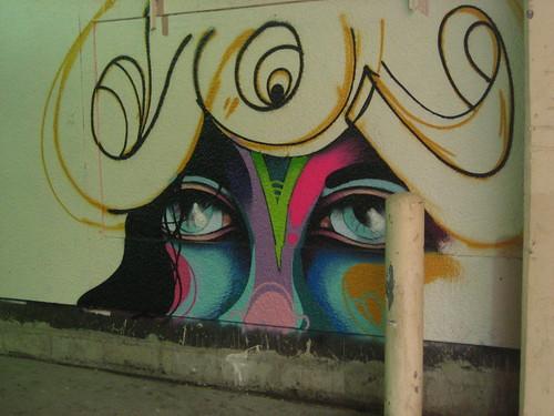 Graffiti in downtown Minneapolis