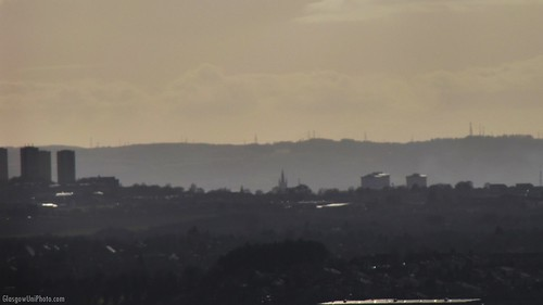 University of Glasgow from Bar Hill
