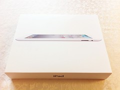 iPad2の箱でーす!