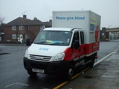 NHS Iveco Blood Van