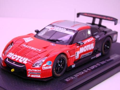 EBBRO MOTUL AUTECH GT-R SUPER GT 2009 OKAYAMA TEST (3)