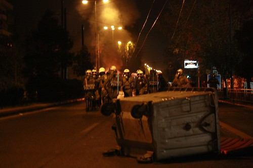 Athens Polytechnic uprising protest 2009 19:25:16.jpg