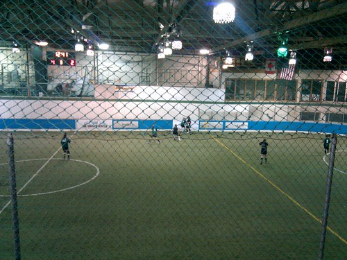Indoor soccer night