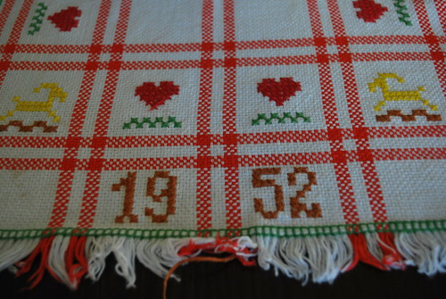 Christmas runner from 1952
