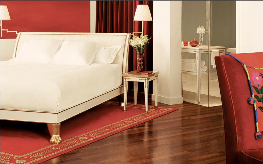 quarto moderno branco