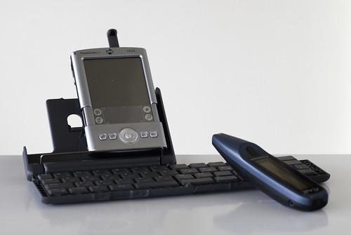 My mobile setup, circa 2004
