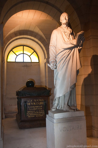 Voltaire's Tomb