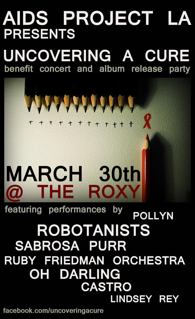 ROBOTANISTS: AIDS PROJECT LA Benefit Concert / Los Angeles, CA - 3.30.2010