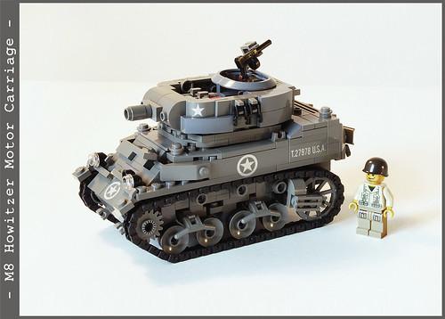 LEGO M8 howitzer