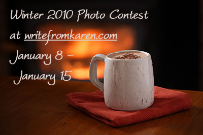 Photo Contest at writefromkaren.com
