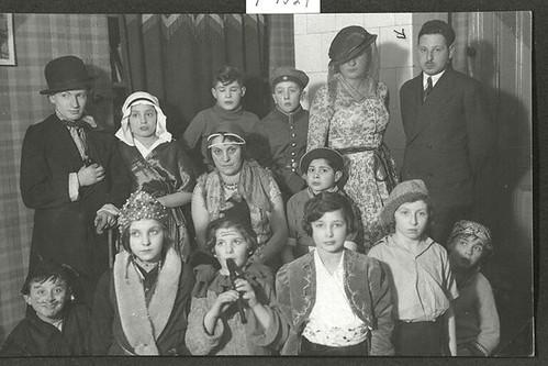 Purim in the orphanage Ahawah
