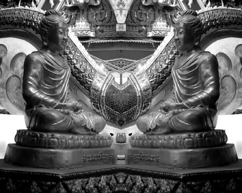 Doppel Buddha