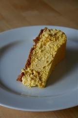 Pumpkin-Ricotta Cheesecake slice