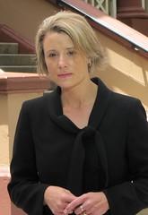 Premier Kristina Keneally outside Parliament H...