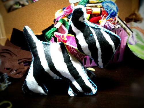 19/365 A Lil' Zebra