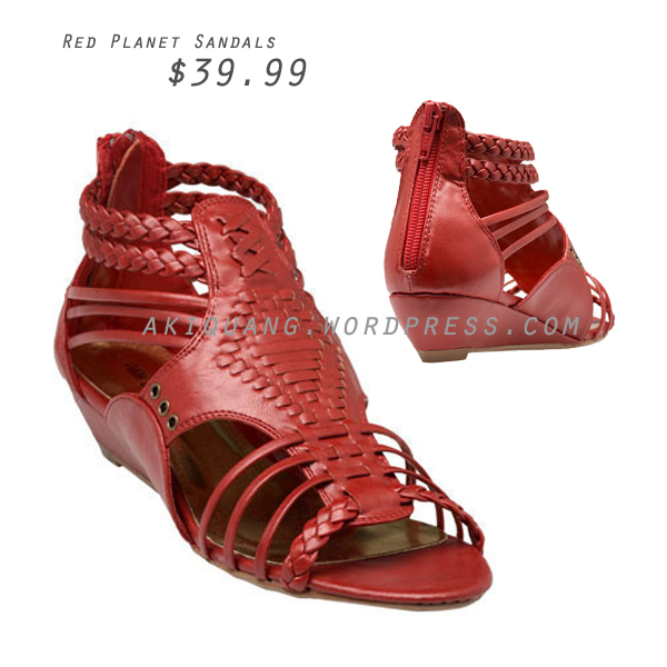 Red Planet Sandals