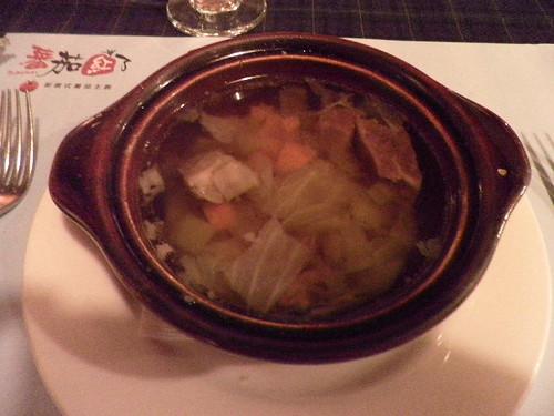 牛肉蔬菜湯