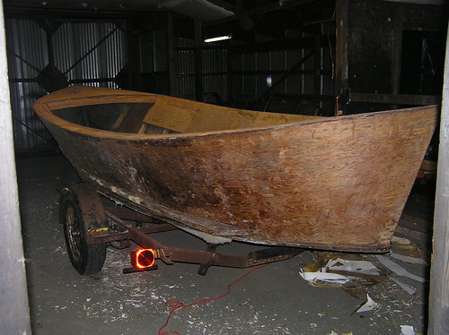 Topsides Fiberglass Removed
