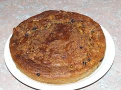 Banana & blueberry muffin