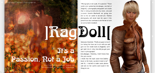 Ragdoll Featured Fashion Photographer