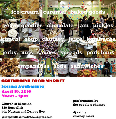 Greenpoint Food Market 4.10.10