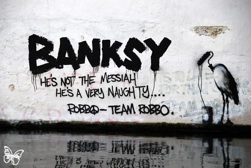 Team Robbo vs Banksy