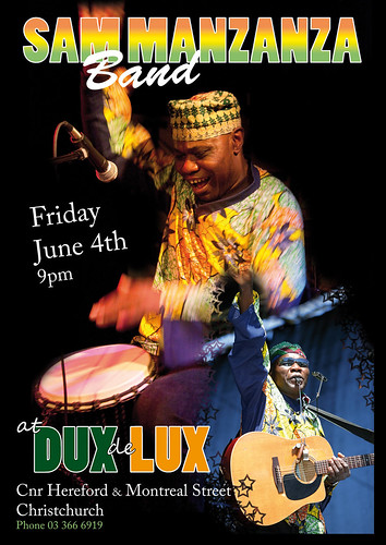 Sam Manzanza Band - Dux de Lux