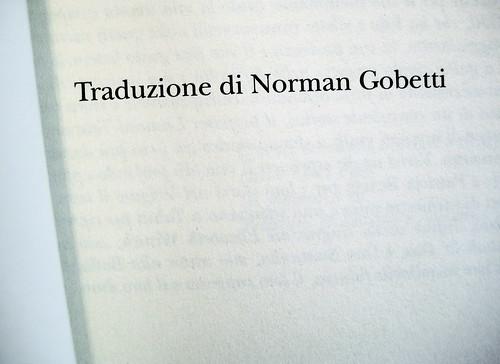 falso amico, di norman gobetti, 21
