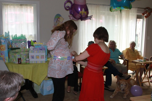 Occoquan Baby Shower - How Big is Mommy - Linda's Guess