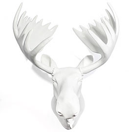 the estate of things chooses ceramic moose head