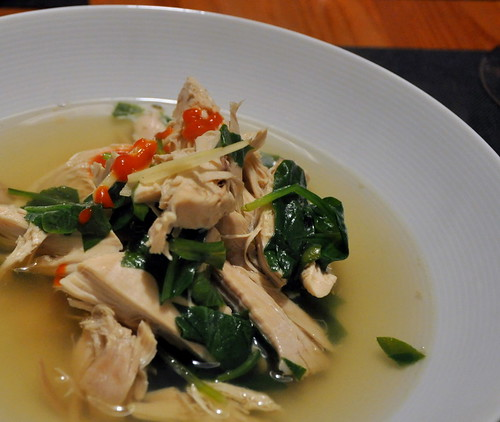 Poached Chicken Soup